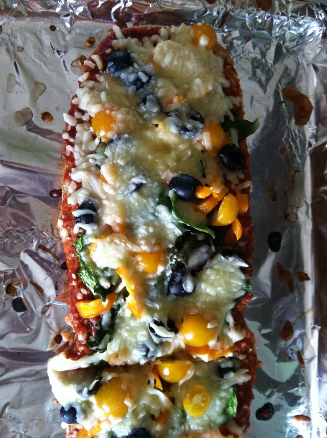 Tasty Tuesday--French Bread Pizza