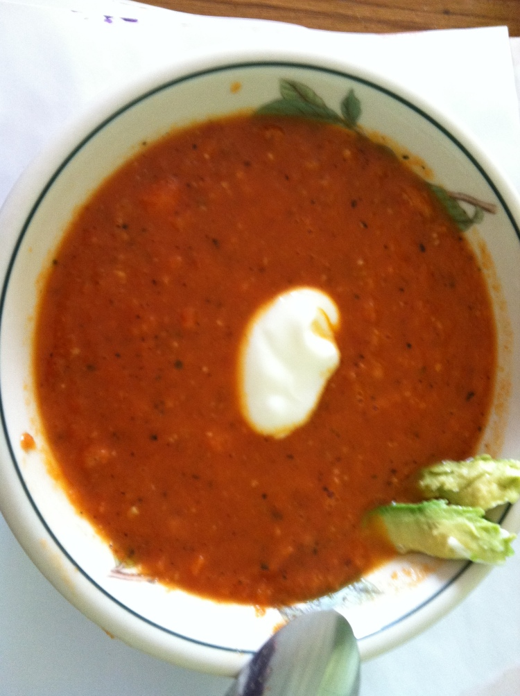 TASTY TUESDAY--Fire Roasted Tomato Soup